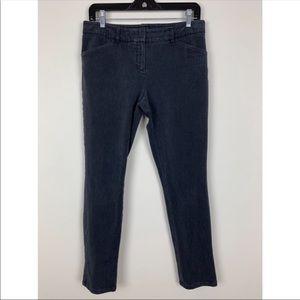 Theory Charcoal Grey Skinny Jeans Sz 10